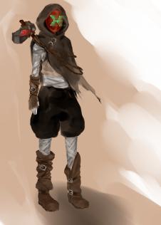 Character concept art 01 by Rachel Chang