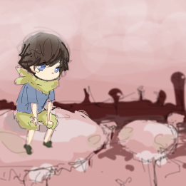 Wandering Child 1   Wispy Willows Concept Art