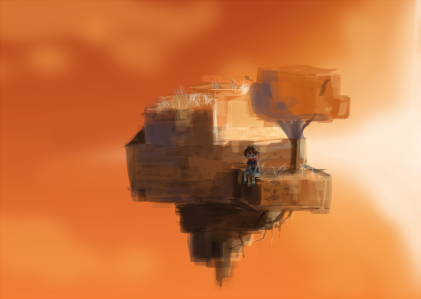 Wandering Child 2 | Wispy Willows Concept Art