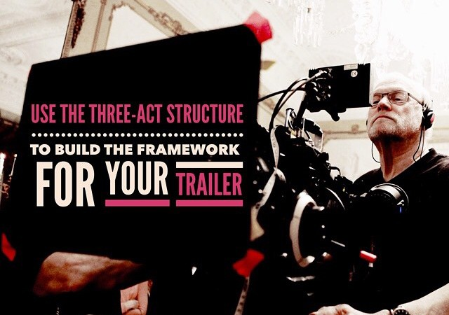 "Featured: ""Use the Three-Act Structure to Build the Framework for Your Trailer"" by Kenneth"