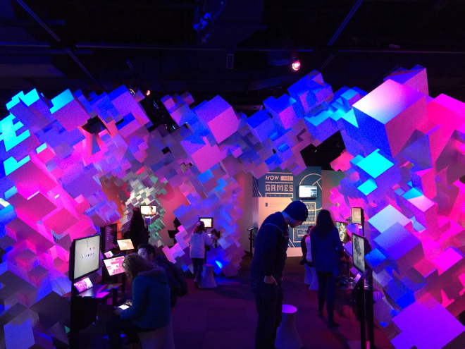 Indie Games Exhibit at EMP Museum