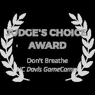 award-wreath_dont-breathe_judges-choice-award_gray