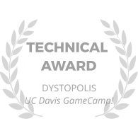 award-wreath_dystopolis_technical-award_gray
