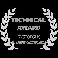 award-wreath_dystopolis_technical-award_gray